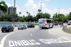 faixas exclusivas para ônibus